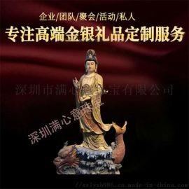 定制三宝佛铜像 纯铜如来佛像 铜佛像生产雕铸厂家