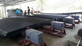 选矿玻璃钢摇床 江西水力选矿设备 云南重选设备