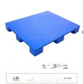 雅安九脚平板塑料托盘,叉车防潮塑料托盘1210