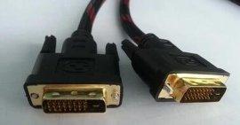 沃斯威 DVI 电脑电视高清连接线 1.5米 3米 5米 10米 15米