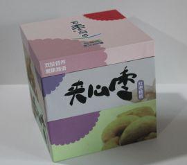 彩色印刷食品礼品牛皮纸盒 创意白牛皮服装包装纸盒子