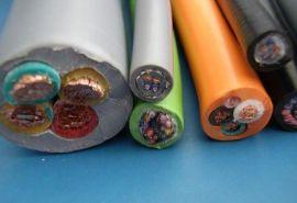 成佳4X0.75mm2 ,高柔性PVC护套电源拖链电缆(带**) 电源线 ,其他电线电缆