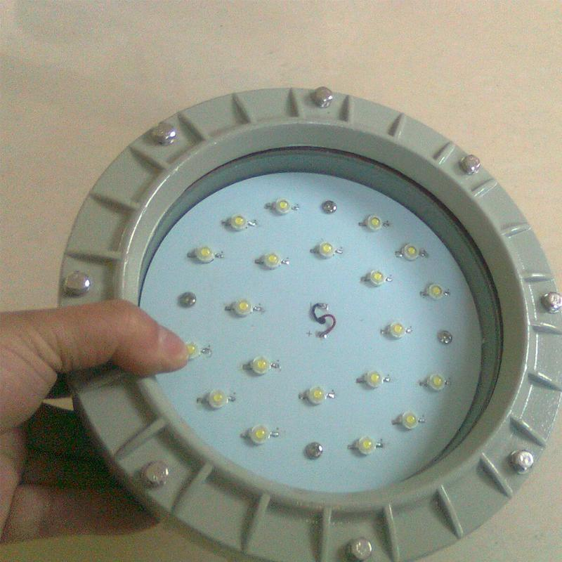 100W加油站LED防爆燈具-加油站防爆燈, 化工廠防爆燈-120W防塵防腐加油站LED防爆燈