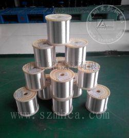 美航供应镀银铜线 极细线 广泛用于高温电缆航天航空电缆及纺织线