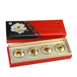 厂家供应牡丹花茶包装盒洛阳特色礼盒 定制玫瑰花草茶礼品盒新款