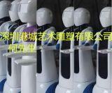 深圳智慧化餐廳機器人雕塑 出口玻璃鋼制品