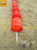 曝氣機浮筒 警示深水區聚氨酯pe浮球 水產養殖滾塑浮體