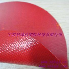 500D/1000D pvc涂层夹网布 0.6MM厚夹网布 pvc涂层箱包夹网布