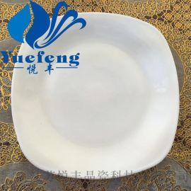 【厂家直销】方型旋盘FXP105/75 opal glass 白玉玻璃碗盘子