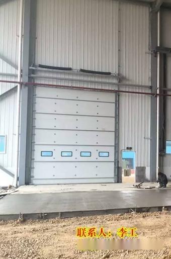 工業電動提升門價格、電動滑升門廠家直銷