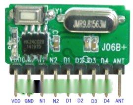 无线模块 接收模块 自带解码 超外差模块J06B+