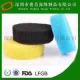 過濾棉柱 過濾棉異形加工 活性炭過濾材料 聚氨酯過濾材料