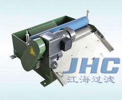 粉末状吸磁杂质的冷却液—机床专用江海牌胶辊磁性分离器