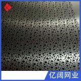 厂家直销室内楼梯高速装饰冲孔网冲孔板各种材质孔型尺寸均可定做