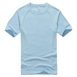 男女通款情侣装加肥加大特大码肥佬胖人运动圆领短袖T恤速干超轻