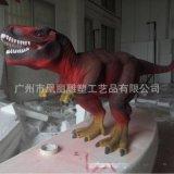 高仿真泡沫恐龙雕塑 大型户外展览泡沫雕塑 商场橱窗摆件