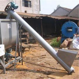 操作方便颗粒物料提升机 螺旋式粮食输送机78