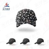 春夏新款帽子全棉棒球帽运动吸汗透气鸭舌帽简约豹纹光板高尔夫帽