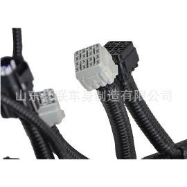 新m3000驾驶室车型线束 定制 陕汽重卡发动机线束 定做底盘线束