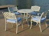 供應鑄鋁花園傢俱/鑄鋁餐桌椅/露臺陽臺休閒桌椅(ALT-7284)