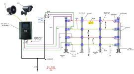 广州艾礼富电子双防区脉冲电子围栏控制器(四线制)WS-8008-2LS