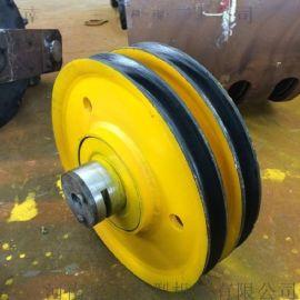 16t滑轮组 滑轮外径565mm 起重滑轮组 双梁行车滑轮组 船舶滑轮组 工厂吊车用滑轮组