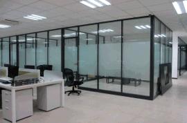 广州市办公室玻璃隔断隔间隔墙安装那家好