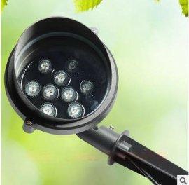 led插地灯18w户外投射灯12瓦地插灯草坪射树灯室外防水花园插泥灯