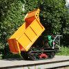 果園微型履帶柴油液壓翻鬥運輸車