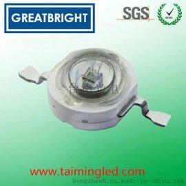 3W大功率紫光UV固化专用LED灯珠