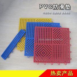 可拼接加厚防滑隔水游泳池地垫PVC塑料脚垫
