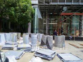 3.0mm弧形包柱铝单板定制