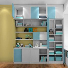 书柜定制 儿童书柜 办公室书柜书架实木 置物架