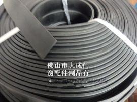 平板型胶条 实心橡胶扁胶条 家具木器夹心胶条薄形橡胶扁条 厚度可定制1mm-10mm