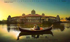陽澄湖旅遊景區觀光船中式手劃船歐式貢多拉木船
