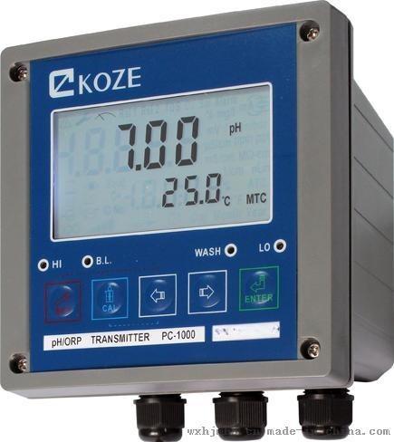 供應科澤PC-1000微電腦型在線pH/ORP控制器