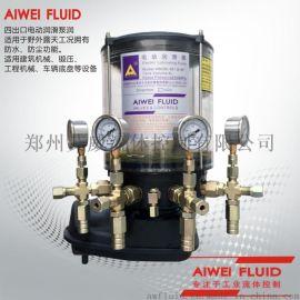 电动油脂泵4WDB-M1.2/244F黄油泵浓油泵