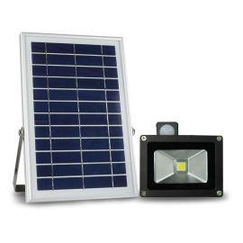 RUOCLN太阳能泛光灯N500H LED投光灯 10W高亮集成灯珠 户外照明