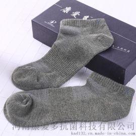 康爱多抗菌科技 抗菌防臭袜男女短袜短筒防臭袜