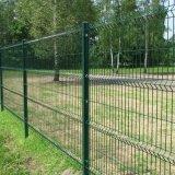 带弯护栏网 三角折弯护栏网  桃型柱护栏网