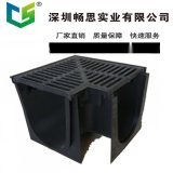 U型 塑料排水溝 HDPE排水溝 樹脂排水溝 HDPE蓋板 不鏽鋼縫隙蓋板