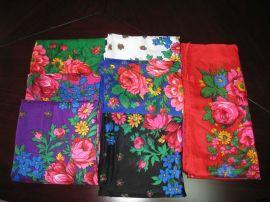 腈綸印花圍巾 (YLFS-080405)