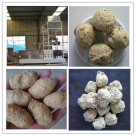 新型大豆组织蛋白膨化机 素肉膨化机 拉丝蛋白设备