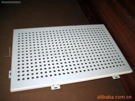铝塑板圆孔 冲孔铝塑板 冲孔加工圆孔铝塑板