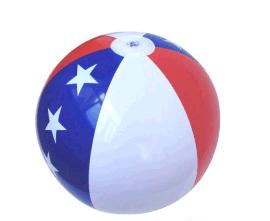 供应PVC充气水球 PVC充气球 沙滩球玩具广告球加工