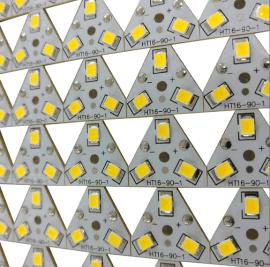 贴片LED灯线路板 铝基板LED灯电路板开发设计 PCB线路板贴片加工