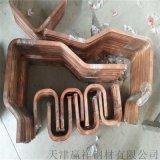 銅管折彎加工 定製紫銅方管 矩形銅管 可發圖定製
