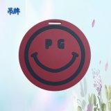 紅色笑臉吊牌 PG個性logo環保PVC吊牌