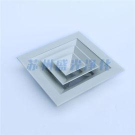 铝合金可开式回风窗 手调固定百叶、防雨回风窗