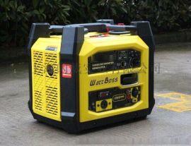 靜音型發電機3KW數碼汽油發電機組